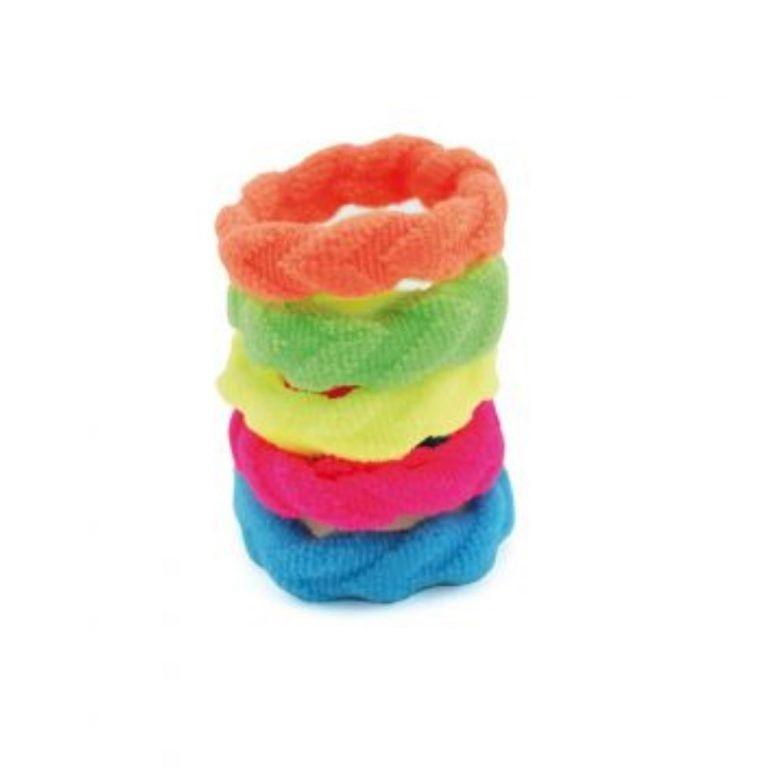 idc design pack de 5 coleteros hair elastic
