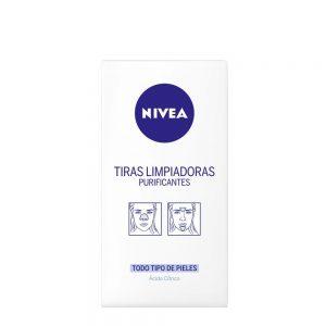 NIVEA VISAGE PIEL MIXTA-GRASA TIRAS LIMPIADORES PURIFICANTES 6 SOBRES—PRM