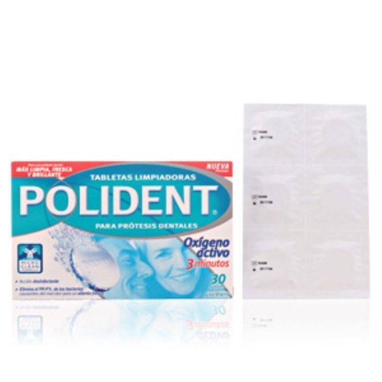polident pastillas 30