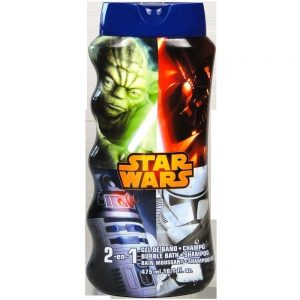 star wars 2v1 sampon a pena do koupele 475 ml