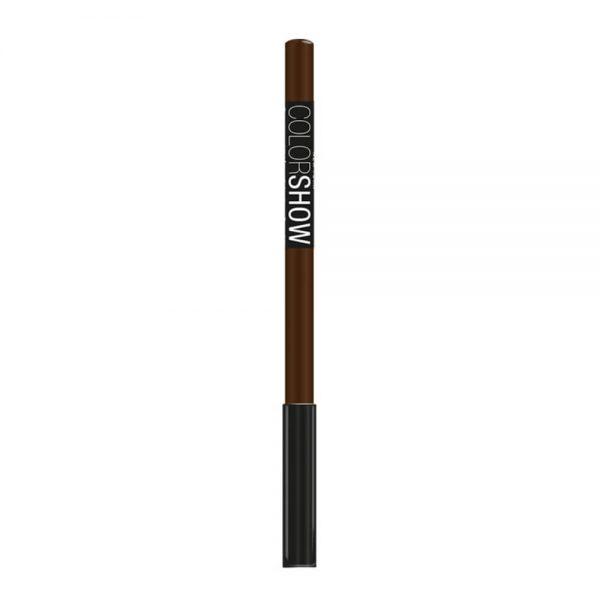 maybelline delineador de ojos color show 400