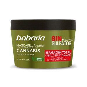 BABARIA MASCARILLA CANNABIS 200ML REPARADORA
