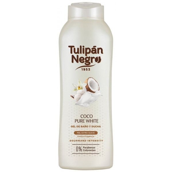 gel coco pure white tulipan