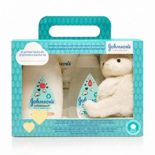 estuche regalo johnson baby cotton touch 01272543 0