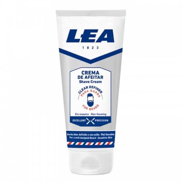 crema de afeitar clear definer para barba lea 75 ml 1