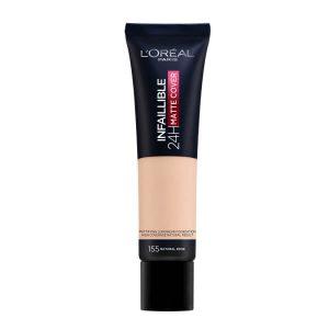 L Oreal Paris Base de maquillaje Infalible Mate Cover 000 0000030177444 Front