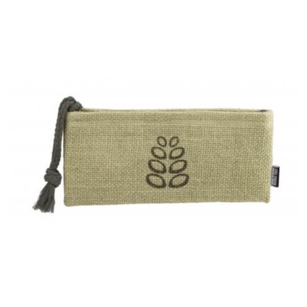 bolsa cosmetica pequena natural fiber