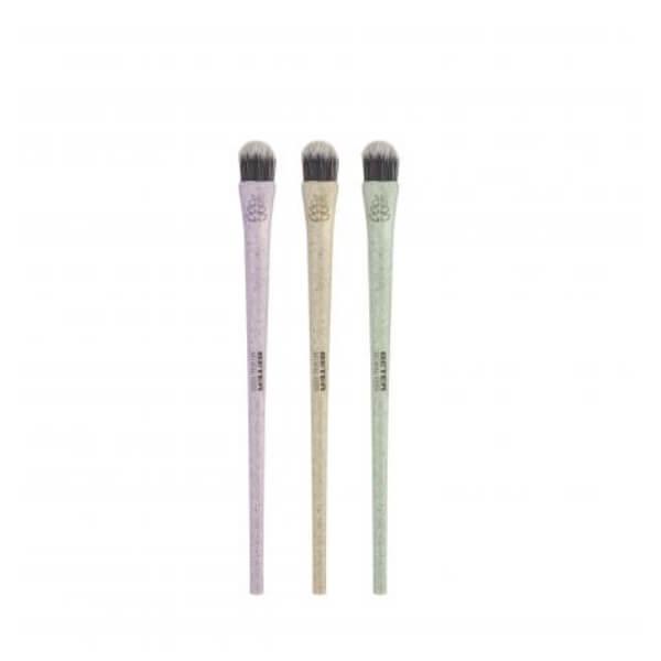 pincel corrector natural fiber