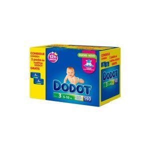 DODOT BOX PANAL ETAPAS T3 140UN REG TOALL 2X64UN 8001090280664