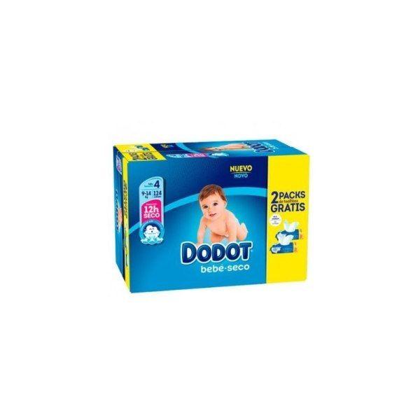 DODOT BOX PANAL ETAPAS T4 124 UN REG TOALL 2X64UN 8001090280688