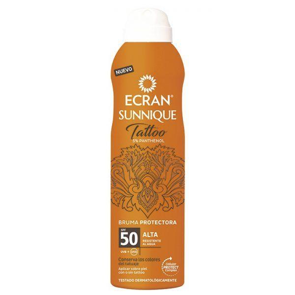 ecfrean sunnique tattoo bruma protectora spf50