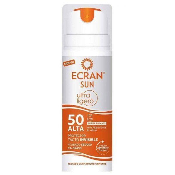 ecran sunnique protector tacto invisible spf50 145 ml